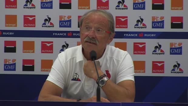 """Rugby : XV de France - Brunel - """"Les Écossais vont être revanchards"""""""