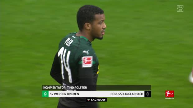 Bundesliga: SV Werder Bremen - Borussia M'gladbach   DAZN Highlights