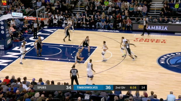 GAME RECAP: Timberwolves 98, Spurs 86