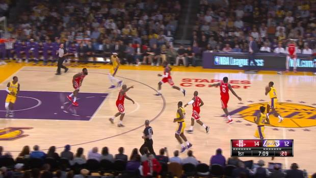 GAME RECAP: Rockets 124, Lakers 115
