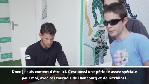 Hambourg - Thiem - 'Confiant après Roland-Garros'