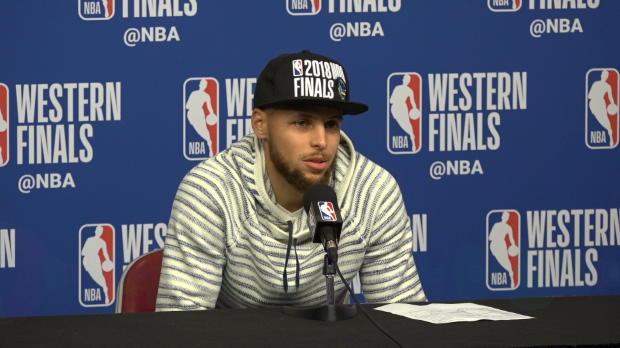 "Basket : Playoffs - Curry - ""Nous étions dos au mur"""