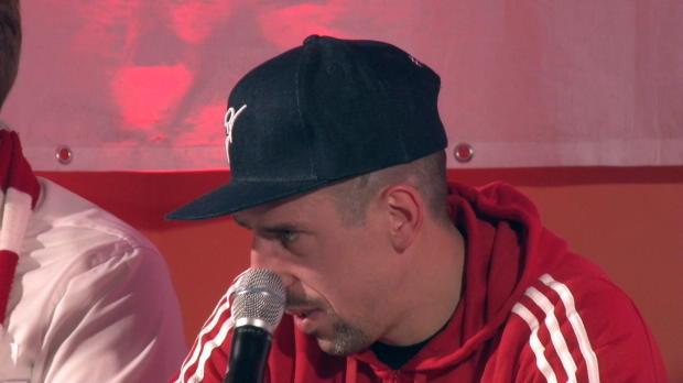 "Beckenbauer als Idol? Ribery: ""War ich zu jung"""