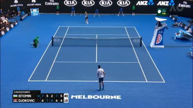 تنس: بطولة استراليا المفتوحة: ايستومين يسقط البطل دجوكوفيتش بشكلٍ مفاجئ