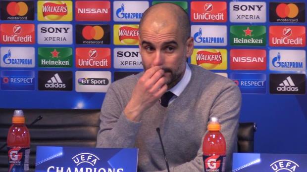 "Genervter Guardiola: ""Nächste Frage"""