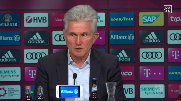 Heynckes lobt und schützt Ribery