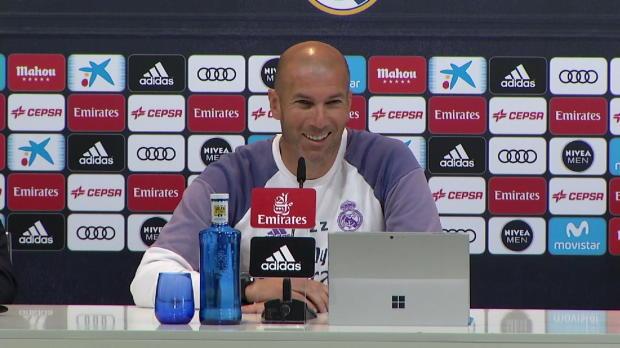 "Zidane: ""Bale sagte, er sei 100 Prozent fit"""