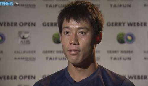Nishikori Interview: ATP Halle 1R