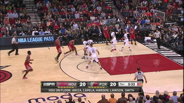 WSC: Highlights: James Harden (34 points) vs. the Trail Blazers, 2/10/2016
