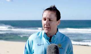 Matildas co-captain Lisa De Vanna says Australia are 'serious' about becoming World Champions after their recent Tournament of Nations success.
