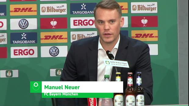 """Neuer vor RB: """"Wollen Double perfekt machen"""""""
