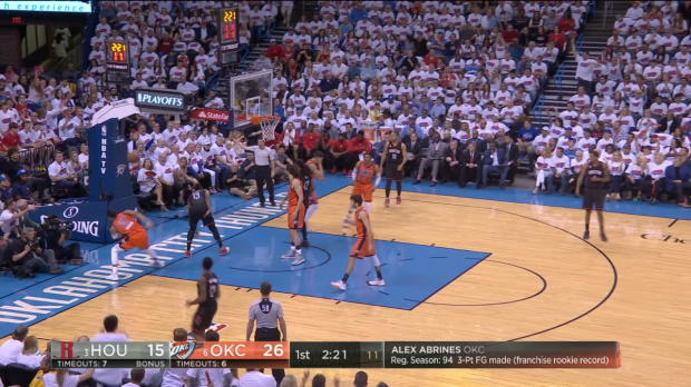 Block of the Night - Andre Roberson