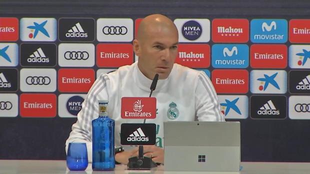 """Zidane: """"Man kann nicht an Ronaldo zweifeln"""""""