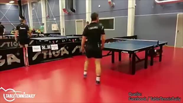Aussichtlos? Nicht für diesen Tischtennis-Spieler!