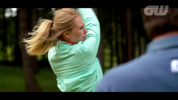 Coaching Anna: Swing like Dustin Johnson
