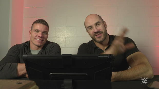 Tyson Kidd and Cesaro rewatch the first-ever WWE Tag Team Championship Elimination Chamber Match: WWE Playback