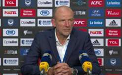 Kenny Lowe said Victory were 'better in the big moments' following Glory's loss on Saturday night.