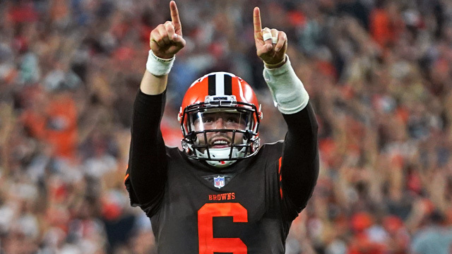 Nate Burleson: Cleveland Browns quarterback 'Baker (Mayfield) was everything we thought he was'