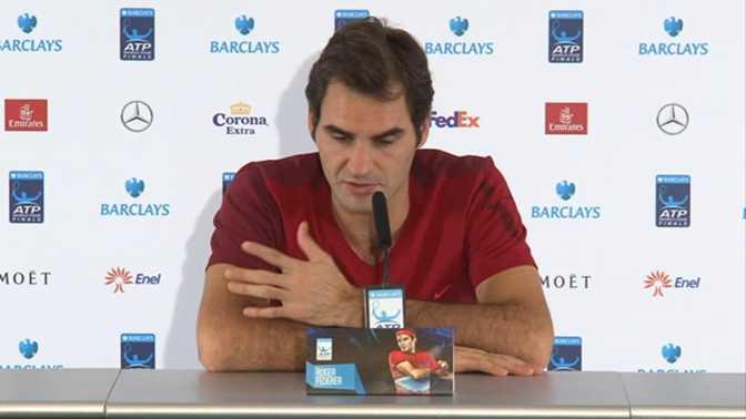 """Masters - Federer : """"Un moment un peu bizarre"""""""