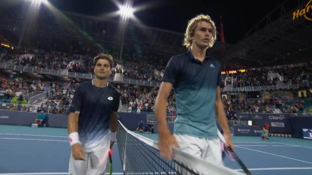 Miami - Zverev sorti par Ferrer !