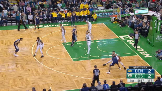 GAME RECAP: Celtics 124, Nuggets 118