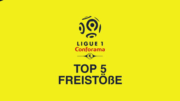 Top 5: Neymar & Co. - sensationelle Freistöße