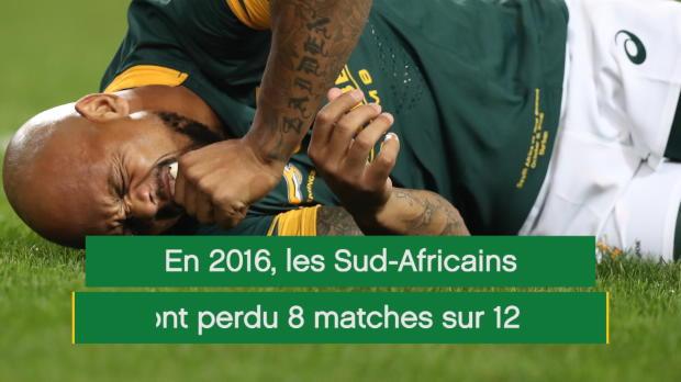 XV de France - L'Afrique du Sud, un géant en crise