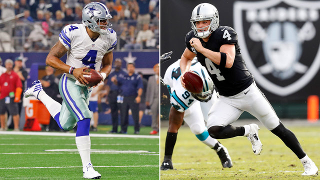 DDFP: Who's more likely to win a Super Bowl title: Dak or Carr?