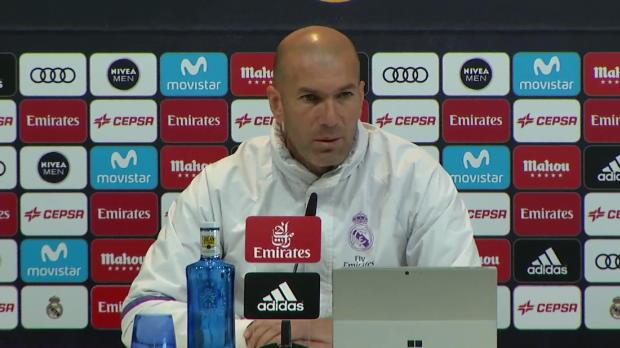 """Zidane: """"Müssen die vielen Spiele akzeptieren"""""""
