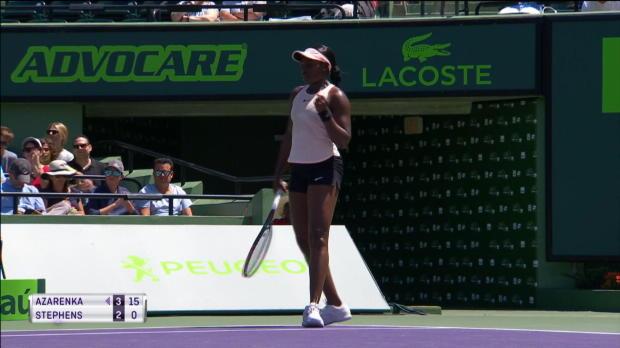 Miami: Kerber-Bezwingerin Stephens im Finale