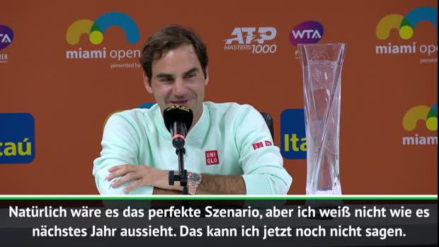 Miami: Federer: Abschied wäre Traum-Szenario