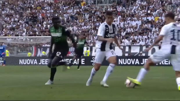 Serie A: Dybala vernascht Gegenspieler
