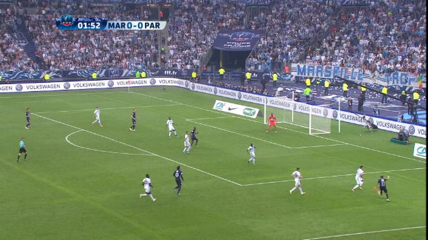French Cup Final : Marseille 2-4 PSG