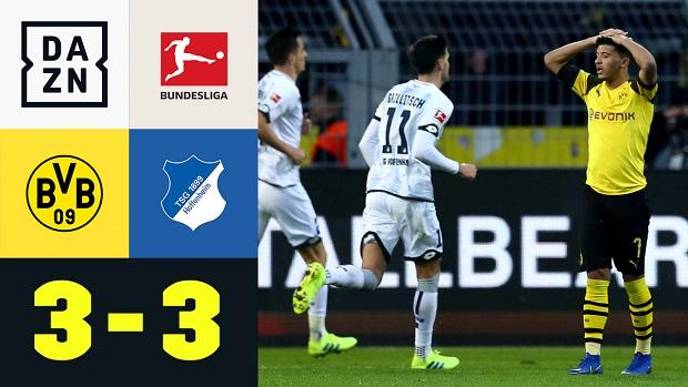 Bundesliga: Borussia Dortmund - TSG Hoffenheim | DAZN Highlights