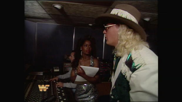 "Join ""Double J"" Jeff Jarrett in the recording studio: Raw, Nov. 22, 1993"