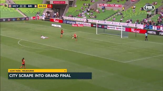 City progress to W-League Grand Final
