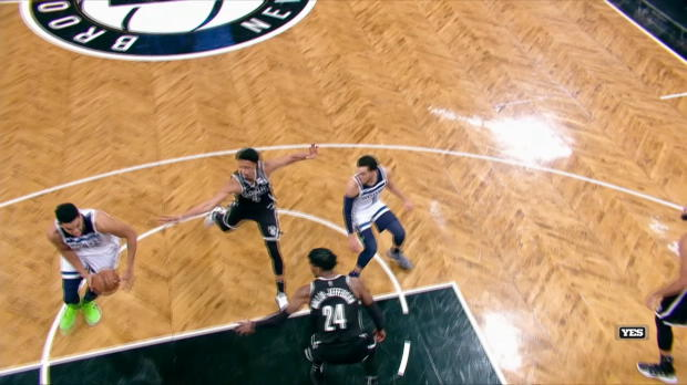 Dunk of the Night: Karl Anthony-Towns
