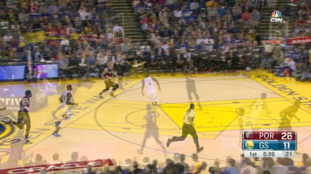 WSC: Stephen Curry with 35 points vs Blazers
