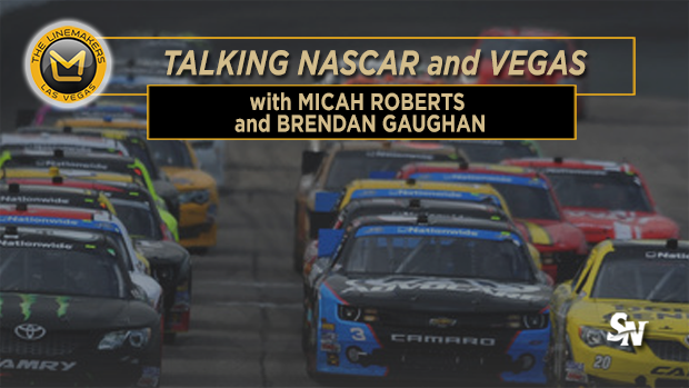 NASCAR in Las Vegas with Micah Roberts and Brendan Gaughan