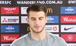 New Wanderers midfielder Terry Antonis says he expects to learn a lot from coach Tony Popovic.