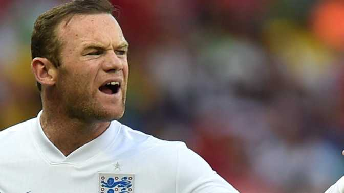 Angleterre - Le brassard pour Rooney
