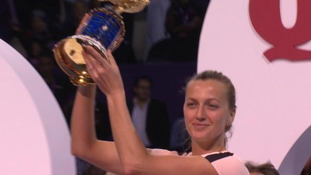 Tennis : Finale - Kvitova, reine de Doha