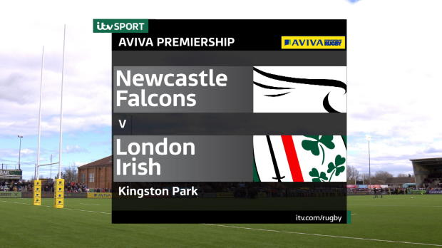 Aviva Premiership - Match Highlights - Newcastle Falcons v London Irish