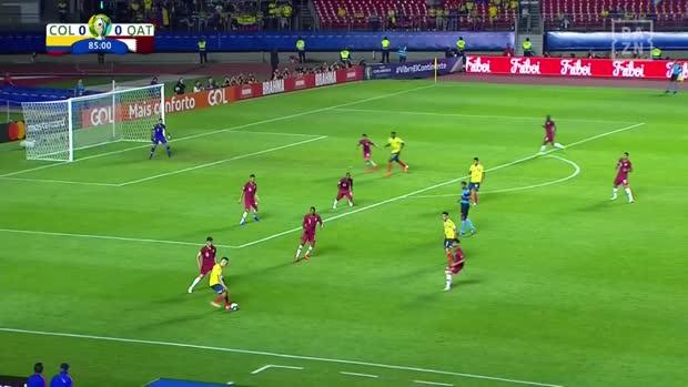 James Rodriguez mit Mega-Assist | Copa America