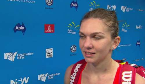 Halep Interview: WTA Sydney 2R