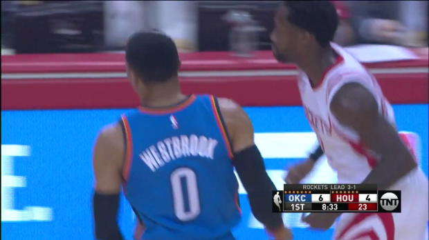 WSC: Russell Westbrook 47 points vs the Rockets