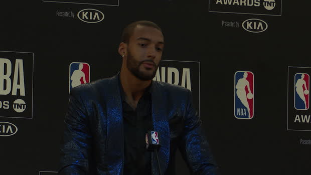 "Basket : NBA Awards - Gobert - ""La récompense d'une saison collective"""
