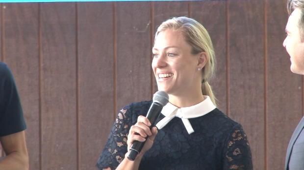 "Australian Open: Kerber: ""Wird schwieriger"""