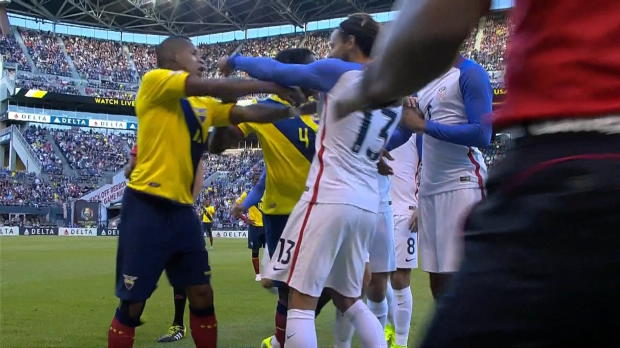 Copa America: Jones-Rot! US-Boy als Bad Boy