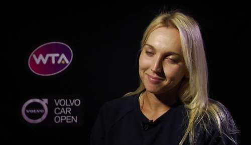 Vesnina Interview: WTA Charleston 2R